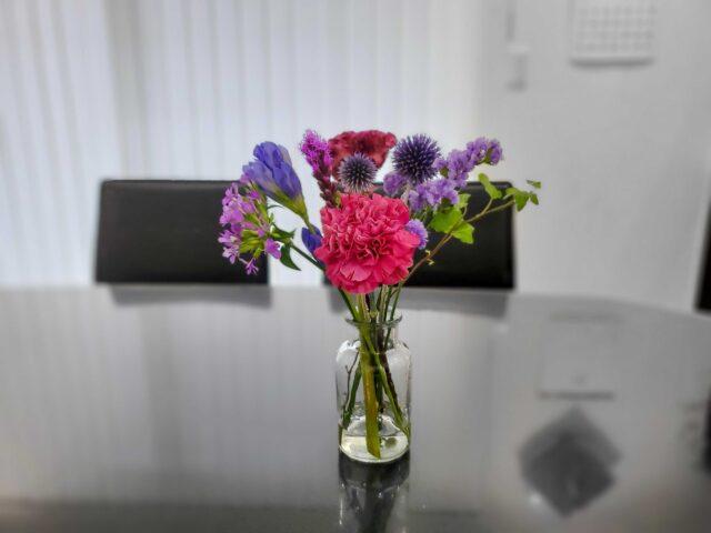 ブルーミーリッチプランで届いたお花