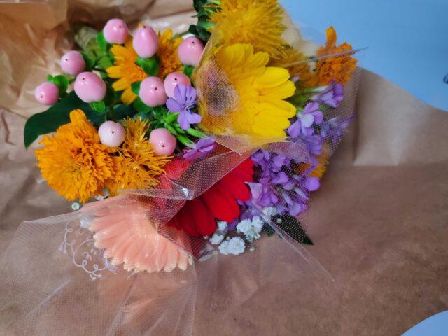 ブルーミープレミアムプランで届いたお花