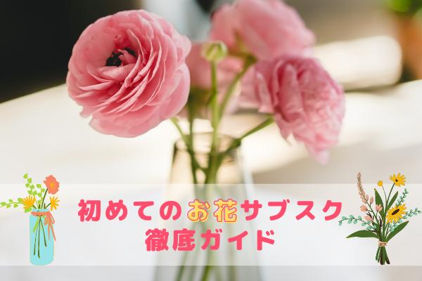 初めてのお花サブスク徹底ガイド